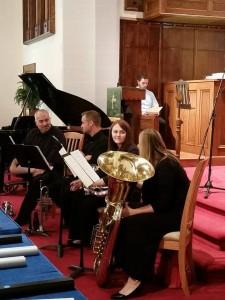 horns hymnfest 9-28-14