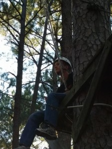 sam poage in tree